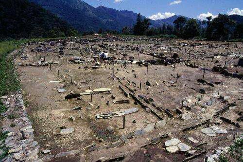 曲冰探掘坑照片(民國70年考古遺址發掘報告翻拍)