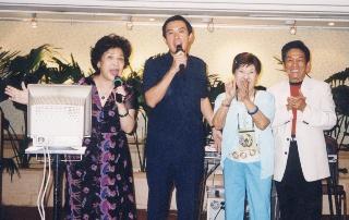 周遊成立「台灣影人協會」馬英九市長親臨祝賀