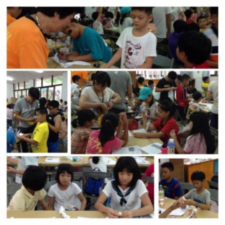 2013兒童工藝夏令營-豐富的工藝學習課程,小朋友個個興趣盎然