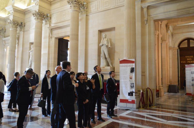 參訪法國國民議會