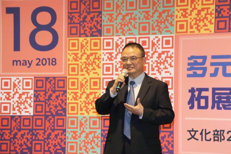 中華民國博物館學會理事長蕭宗煌致詞