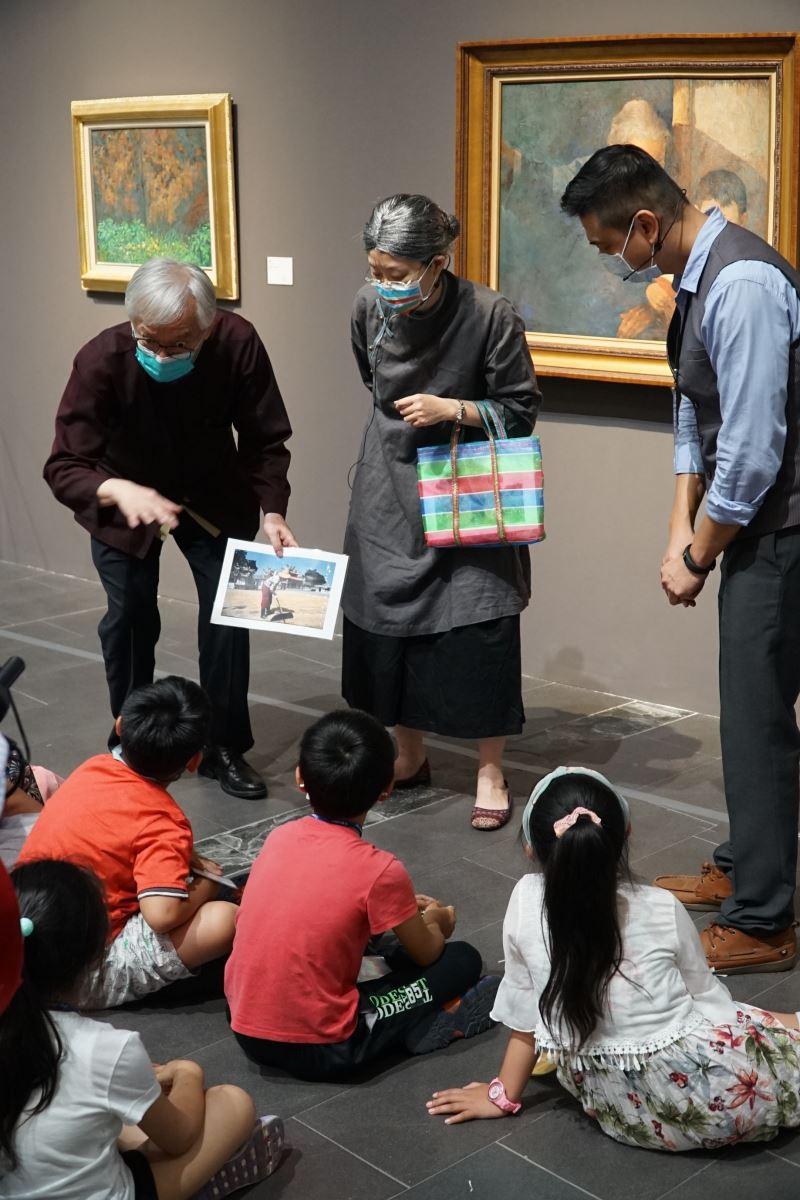 國美館新空間啟用,梁永斐館長到場分享自己童年時農忙的故事