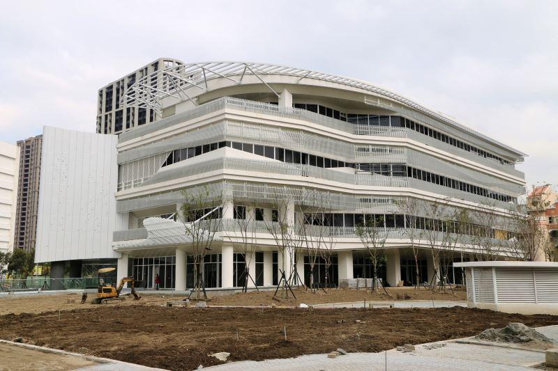 位於新莊的國家電影中心新場館,預計110年完工啟用。