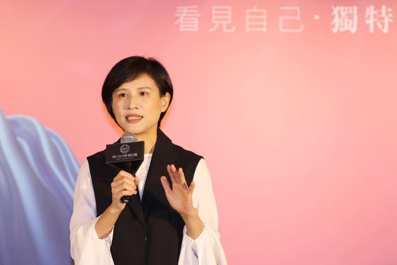 文化部長鄭麗君出席2018臺北時裝週SS19展前記者會致詞