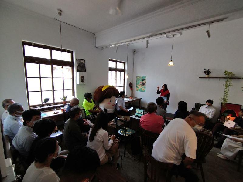 藝術家呂燕卿老師分享年輕時公會堂的樣子