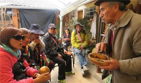 Hualien's Niyalo' no Kiwit tribe travels to Peru under the auspices of the 2017 grants program.