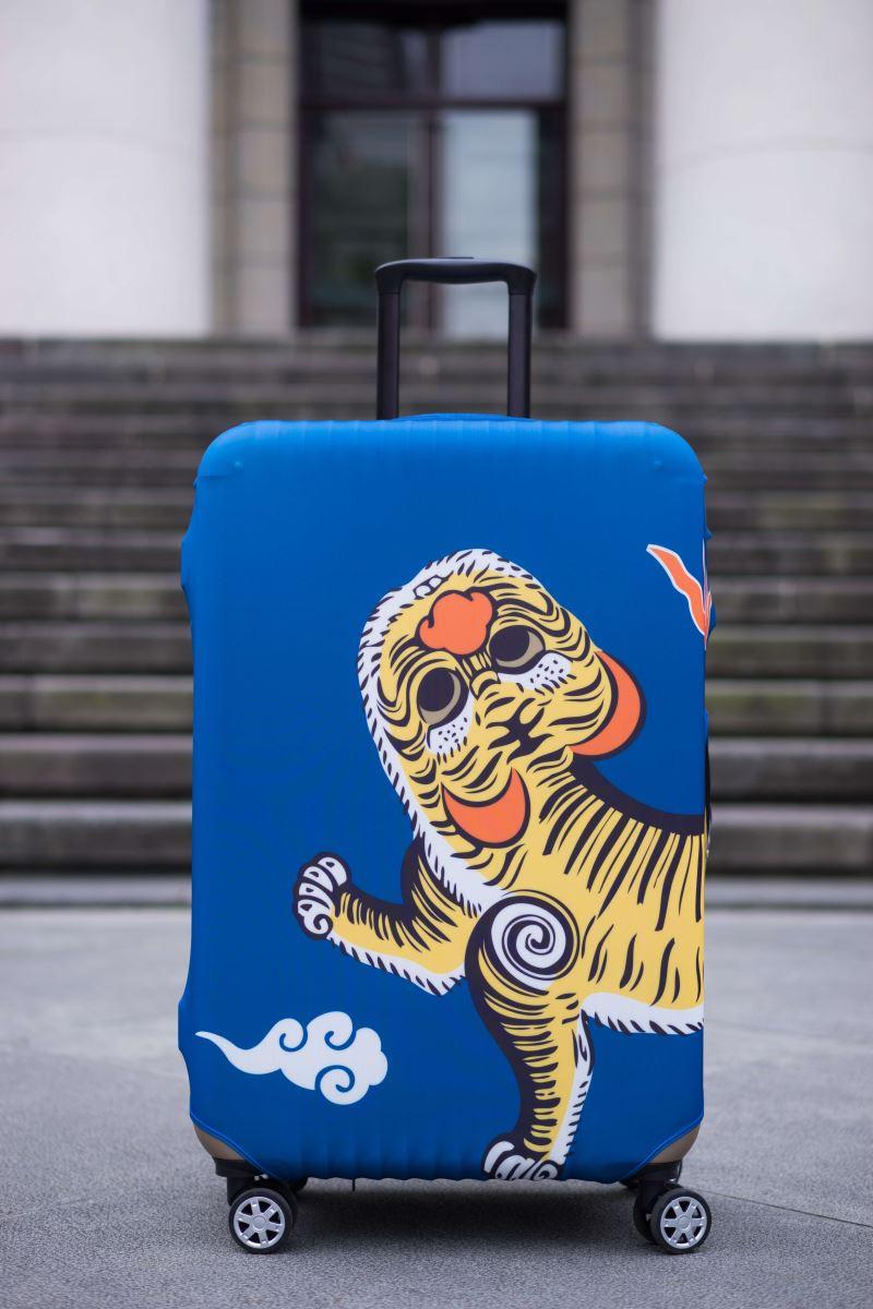 行李箱套-正面