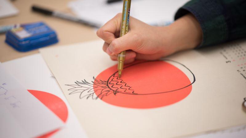 金鼠開箱─紙藝體驗進行式-手感年曆