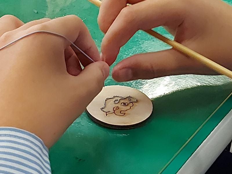 粧佛工序體驗-盤漆線