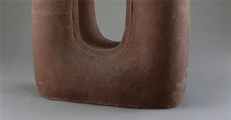 Yang Yuan-tai〈Work '94-9 Pottery clay 〉Detail