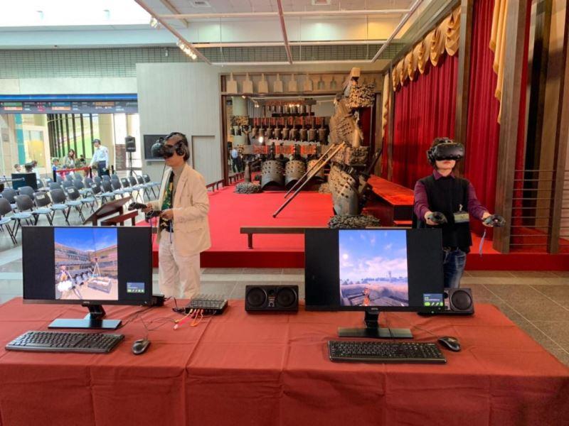 圖3:《王者之音》曾侯乙編鐘展每週假日有限額讓觀眾體驗編鐘VR,以及小編鐘科學演示等活動,歡迎民眾踴躍前往參觀。
