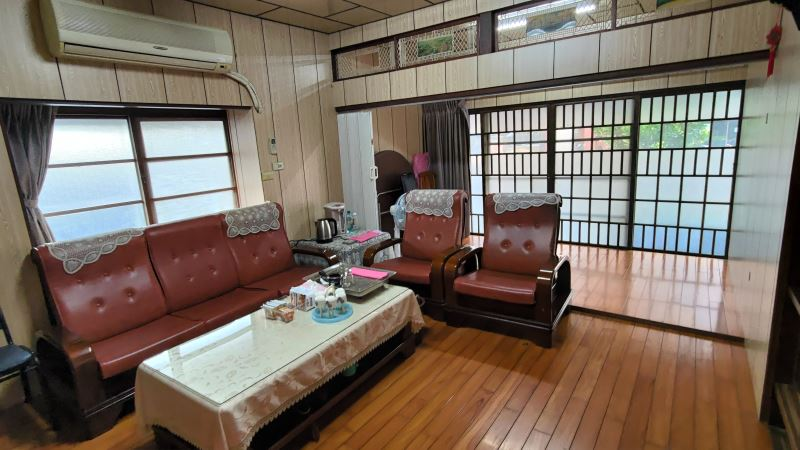 The interior view of the police dormitory. (Photo courtesy of TMACH)