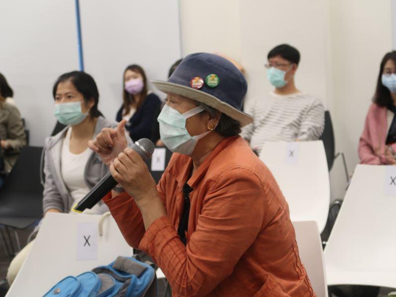 20201022brownbag課程#遊客中心2樓-聽眾詢問