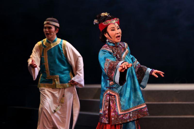 戲曲天后許秀年飾演羅太夫人,戲曲新秀張閔鈞飾演少年時期林獻堂3