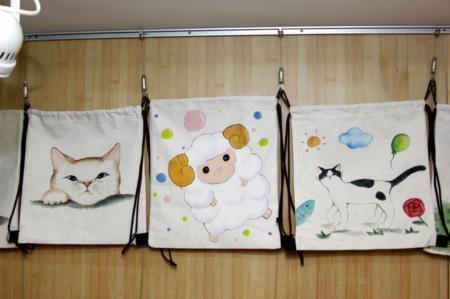 2F進駐工坊DIY作品-動物彩繪包