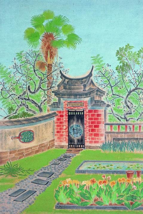 1939 | Springtime at the Wufeng Lin Family Garden (萊園春色:霧峰林家花園)
