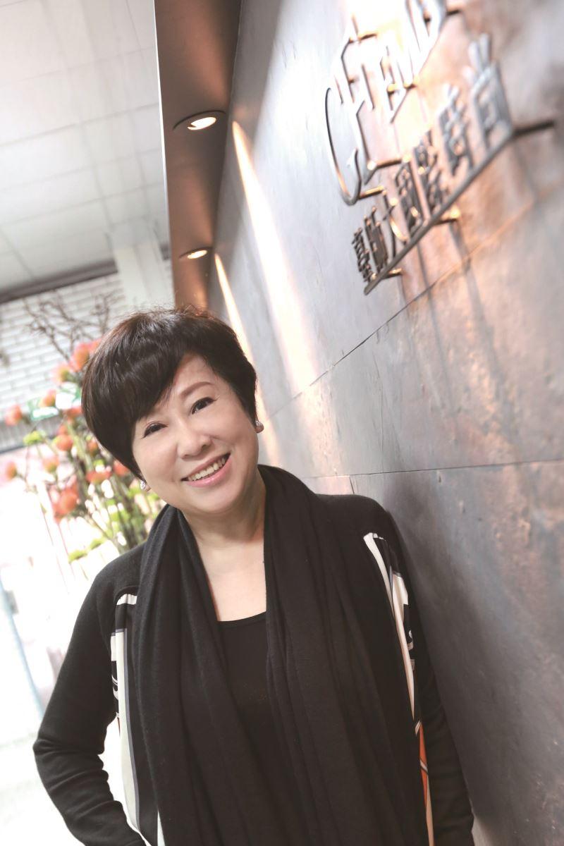 臺灣廣告媒體教母──聯廣傳播集團前董事長余湘。