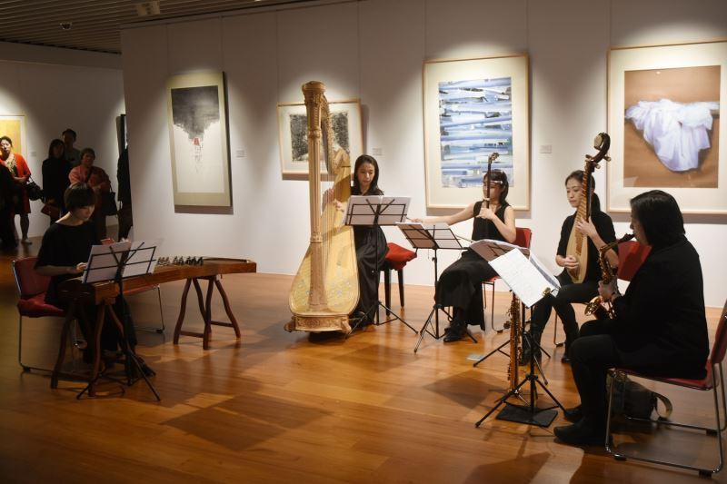 「2019東區秋季國際爵士音樂節」於國父紀念館1樓博愛藝廊演出。