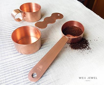 紅銅咖啡匙
