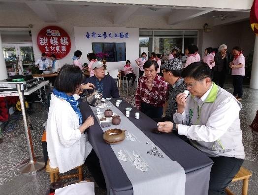 春節活動記者會-茶席體驗