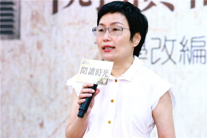 文化部丁曉菁次長表示,臺灣的文學作品就是臺灣人的日常,《閱讀時光》系列目的是要透過影像把閱讀人口找回來
