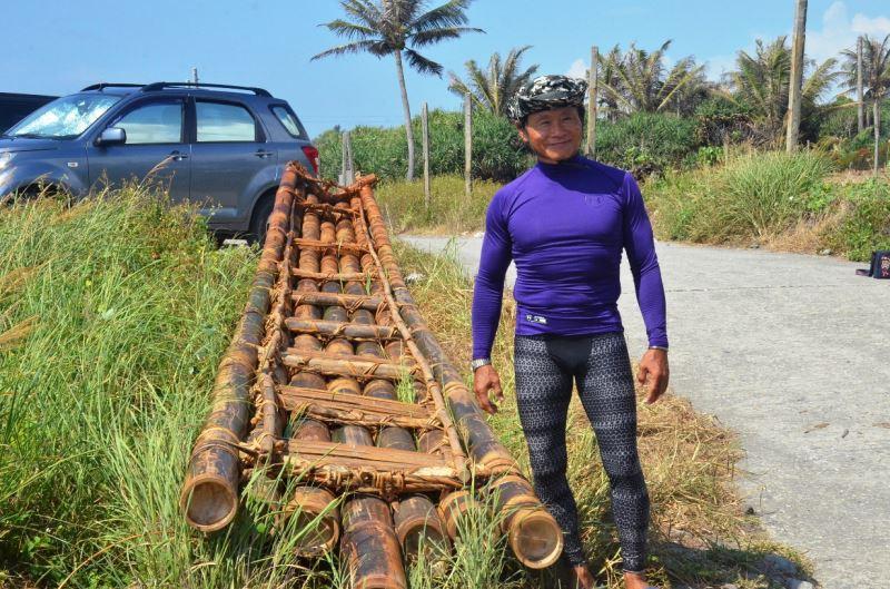台人宋元開教練第二度參與史前館『3萬年前的航海』計畫