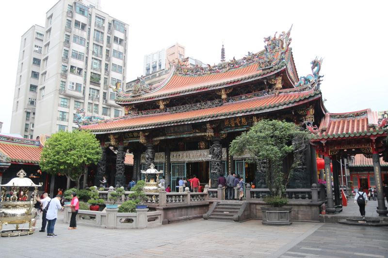 Longshan Temple in Wanhua District.