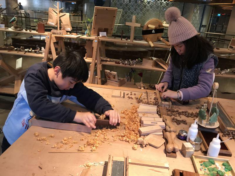 系列課程--兒童木工