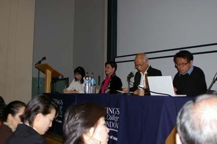 王海玲應邀參加研討會座談。