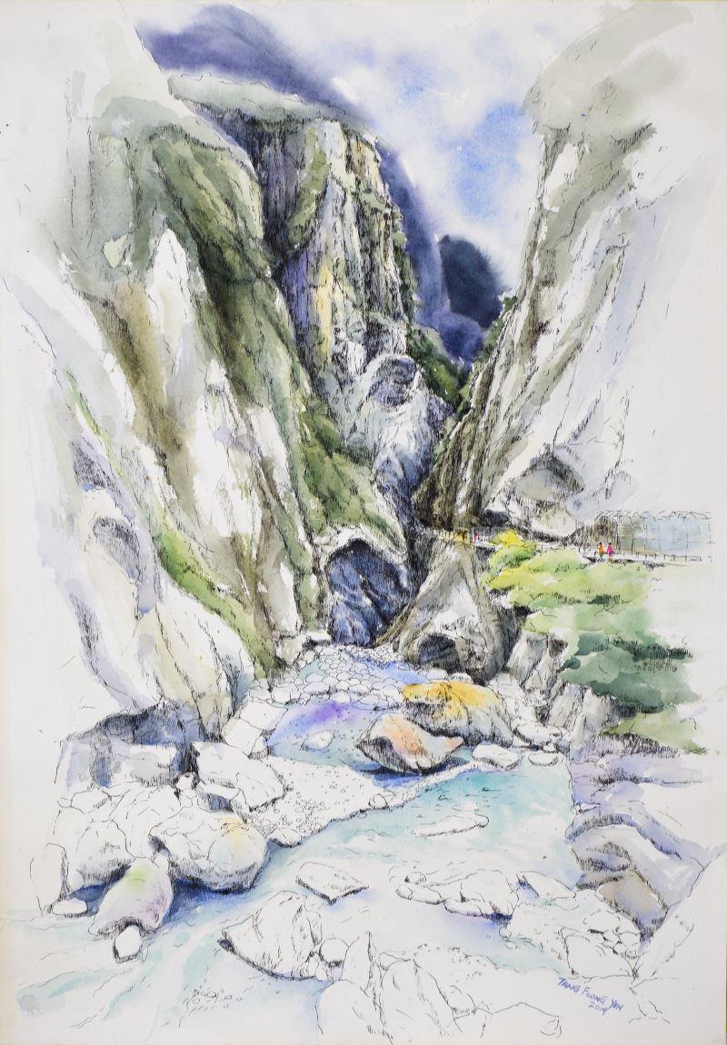 太魯閣峽谷勝景-Tang foong Yen (馬來西亞)