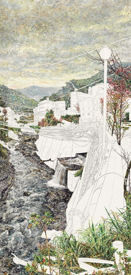 HUNG Tien-Yu〈Lushan in 2000〉Detail