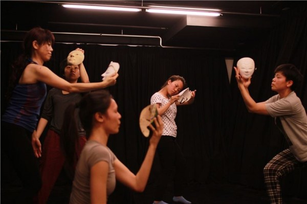 Through the 2015 grants program, Taiwan's Party Theatre Group (同黨劇團) finds inspiration in traditional Indonesian mask dance