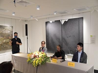 「跨世代藝術家座談會」現場。
