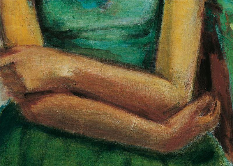 SHEN Che-tsai〈Human Figure〉Detail