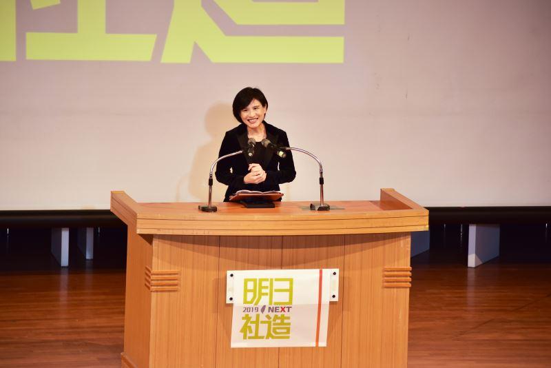 鄭麗君部長表示,文化部期待跨部會合作,建立有利於社區營造的公共治理模式,與民間共同展望下一個社造十年的目標。