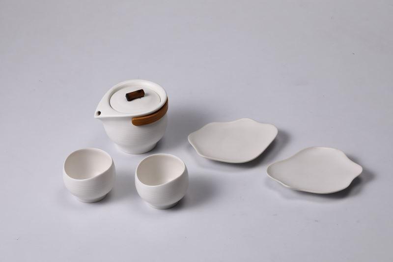 台灣優良工藝品-造型獎-逸Ⅱ│LeisureⅡ茶具組