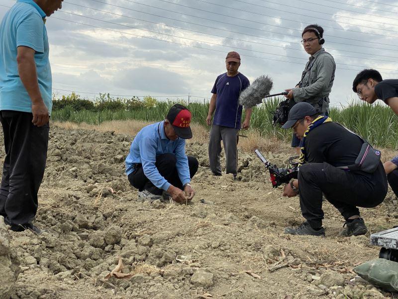 考古耕人拍攝現場