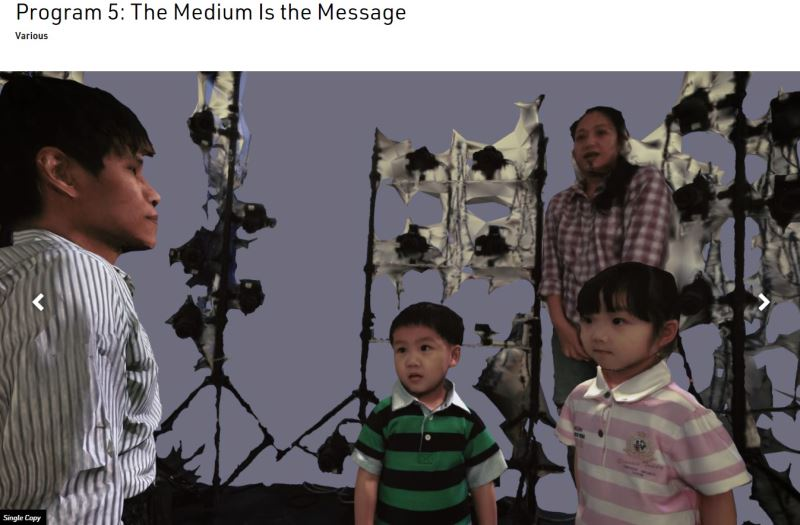 SINGLE COPY is a 22-minute moving image work, featuring Chang Chung-I(張忠義), a once-conjoined twin.