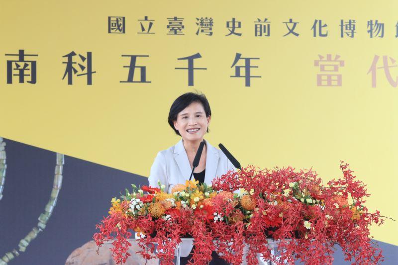 文化部長鄭麗君致詞。