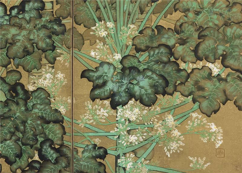 GOUHARA Kotou〈The Garden〉Detail