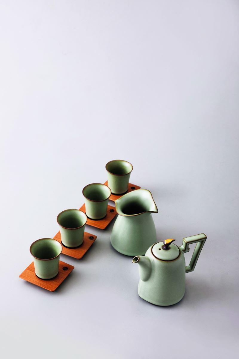 Yii-翠荷泰然茶組