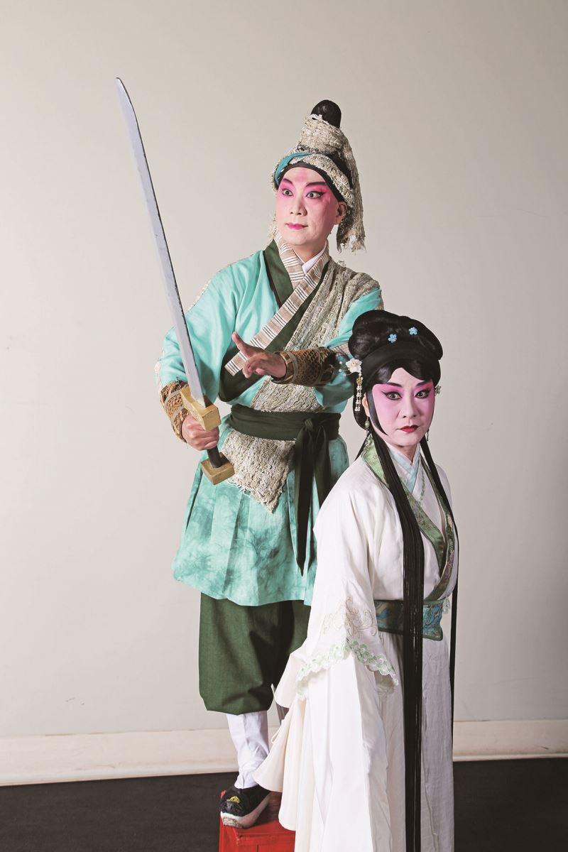 《看瓜別.後》是施如芳最新編導的戲劇,改編自《白兔記》,並由臺灣京崑劇團演出。