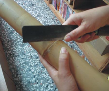 01削平隆起的竹節