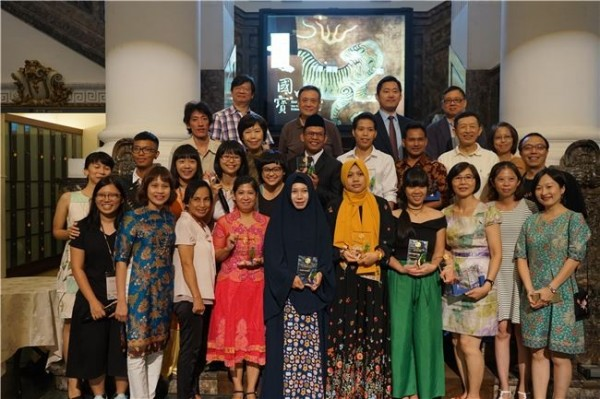 The awards ceremony for the 3rd Taiwan Literature Awards for Migrants was held at the National Taiwan Museum in Taipei.