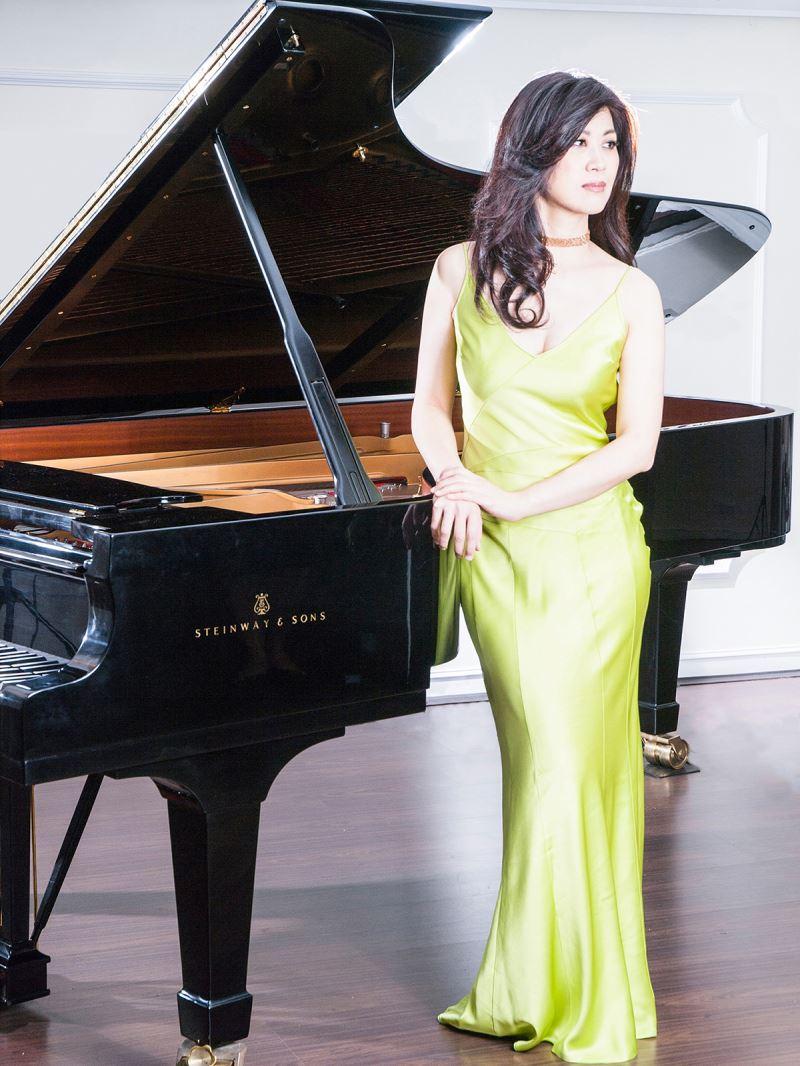 Pianist Gwhyneth Chen.