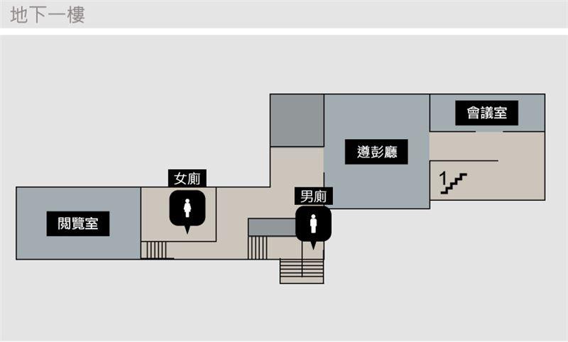 地下一樓平面圖