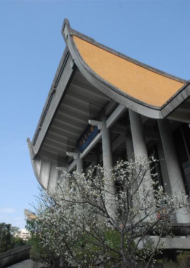 國父紀念館正門一角照片