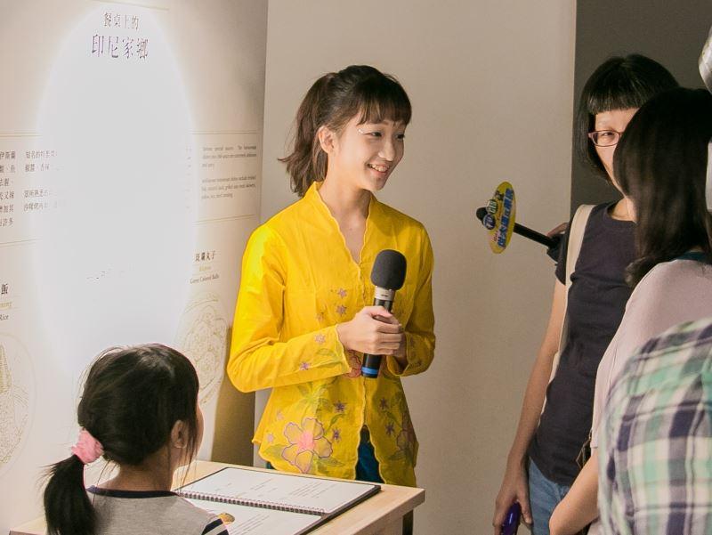 圖2臺博館歡迎新二代加入新住民服務大使