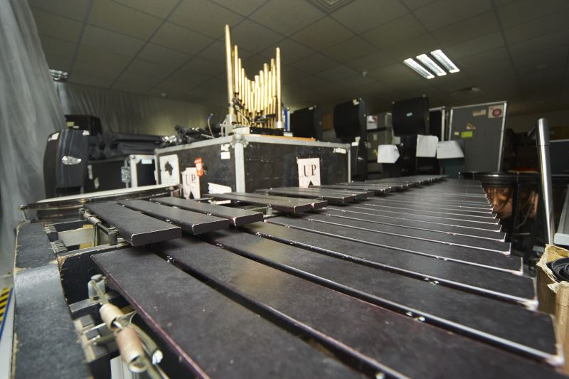 每次演出完畢的樂器都要經過整理、歸檔,以備下次演出。