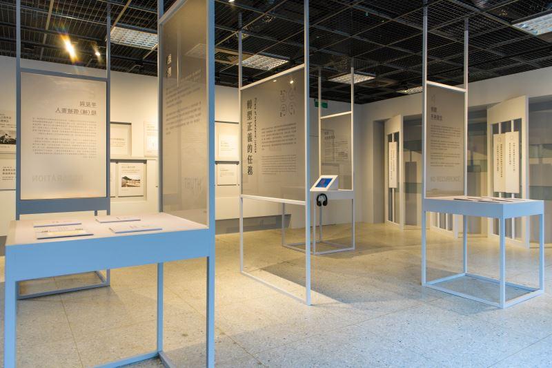 展場08 不同方向的任務展示,表述轉型正義仍需要更多元的討論及努力_宜東文化提供
